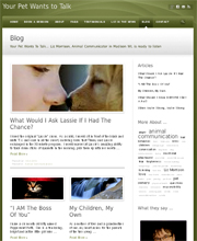 Small image of web page links to web client's site