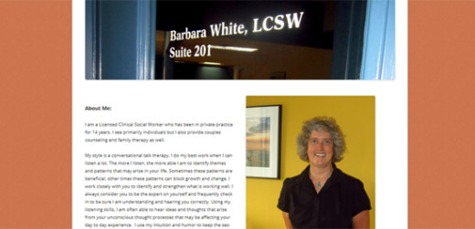 Barbara C White, LCSW