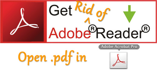 How to make Adobe Pro default instead of Reader on Windows 8