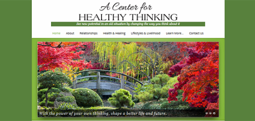 Website for Articles ~ Center for Healthy Thinking