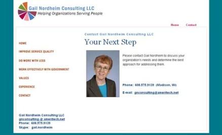 Gail Nordheim Consulting LLC