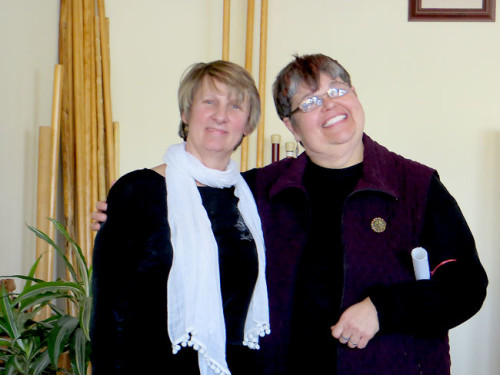 Kathryn Coleman and webmaster Deb Vandenbroucke