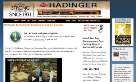 Hadinger Flooring of Naples, Florida