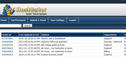 How to make a support ticket on Hostgator