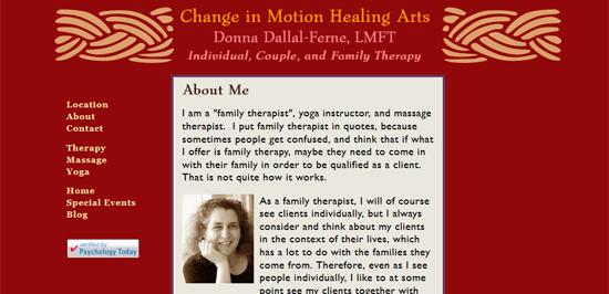 Change in Motion Healing Arts ~ Syracuse, NY