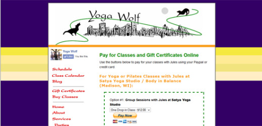Jules Wolf Stenzel ~ Yoga and Pilates Instructor