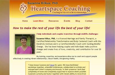 Suzanne Kilkus ~ Heartspace Coaching
