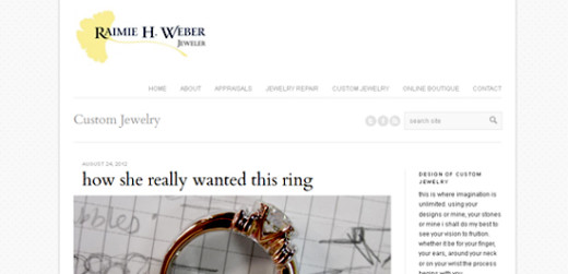 Raimie Weber, Jeweler