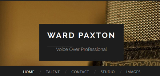 Ward Paxton ~ Voice Talent