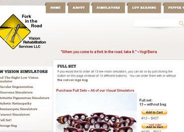 low vision simulator, vsrt, pepper test
