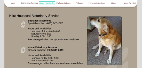 Hilst Housecall Veterinary Service
